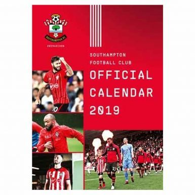 Official Southampton FC 2019 Football Calendar (A3)