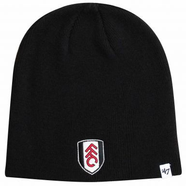 Official Fulham FC Crest Adults Beanie Hat