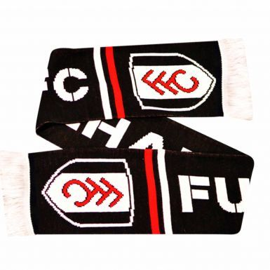 Official Fulham FC Winter Warmers Beanie Hat & Scarf Set