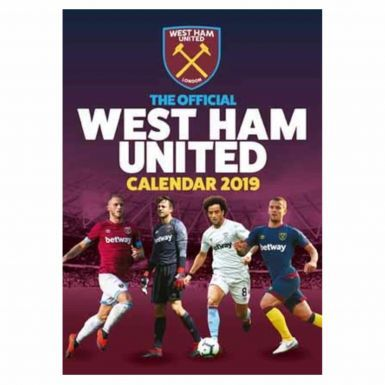 Official West Ham United 2019 Soccer Calendar (A3)