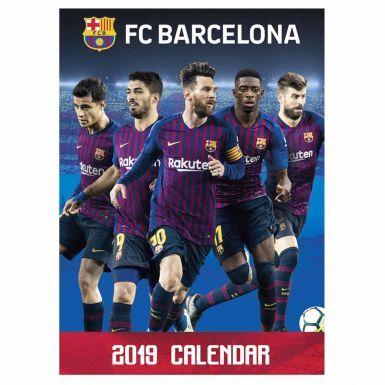 Official FC Barcelona (La Liga) 2019 Soccer Calendar (A3)