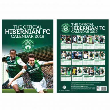 Official Hibernian FC 2019 Football Calendar (A3)
