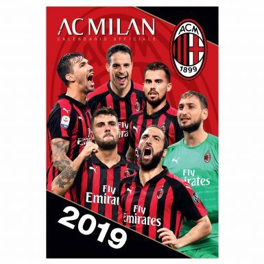 Official AC Milan (Serie A) 2019 Football Calendar (A3)