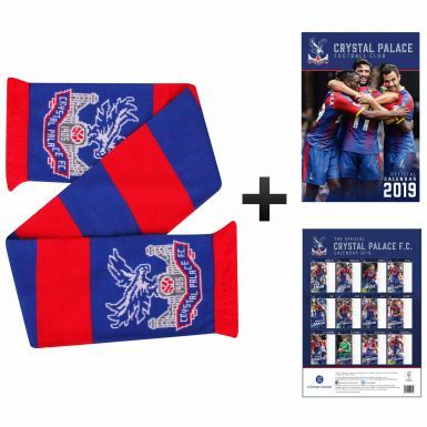 Official Crystal Palace 2019 Calendar & Scarf Gift Set