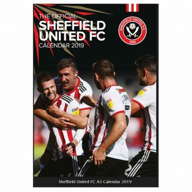 Official Sheffield United 2019 Football Calendar (A3)