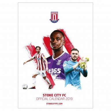 Official Stoke City 2019 Football Calendar (A3)