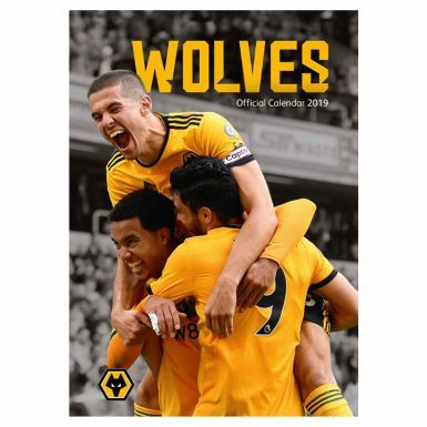 Official Wolverhampton Wanderers (Wolves) 2019 Football Calendar