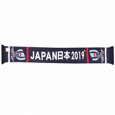 Official 2019 Japan Rugby World Cup Souvenir Fans Scarf (100% Acrylic)