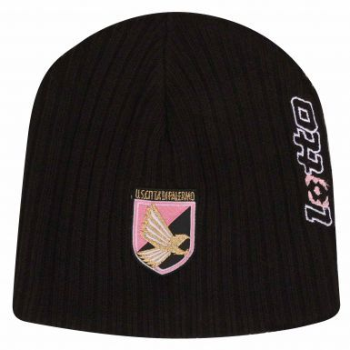 US Citta di Palermo (Serie A) Beanie Hat by Lotto