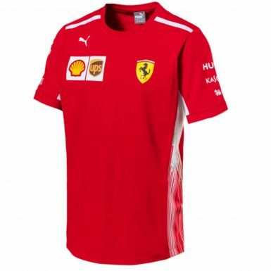 Official Scuderia Ferrari F1 Mens T-Shirt by Puma