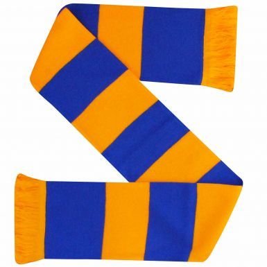 Yellow & Blue Bar Scarf