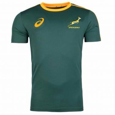 Official South Africa Springboks Adults Rugby Shirt by ASICS