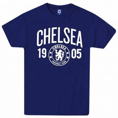 Official Chelsea FC EST 1905 Premier League T-Shirt