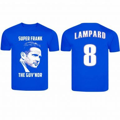 Frank Lampard Chelsea Player Legend & Manager T-Shirt (100% Cotton & Sizes S to 4XL)