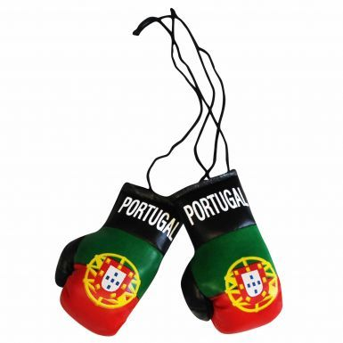 Portugal Flag Mini Boxing Gloves