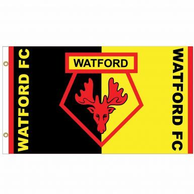 Giant Watford FC Football Crest Flag