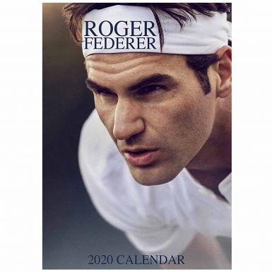 Roger Federer Tennis Legend 2020 Wall Calendar (A3 & Full Colour)