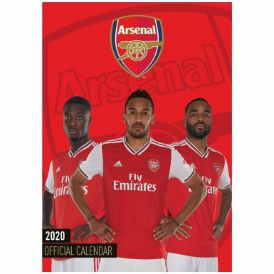 Official Arsenal FC (Premier League) 2020 Soccer Calendar