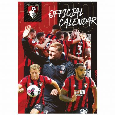 Official AFC Bournemouth 2020 Football Calendar (A3)