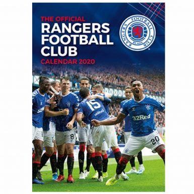 Official Rangers FC 2020 Soccer Calendar (A3)