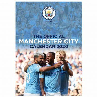 Official Manchester City 2020 Football Calendar (A3)