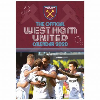 Official West Ham United 2020 Soccer Calendar (A3)