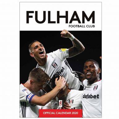 Official Fulham FC (Championship) 2020 Soccer Calendar A3