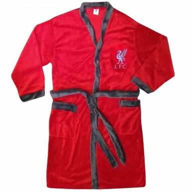Official Liverpool FC Adults Dressing Gown