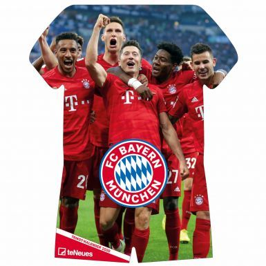 Official Bayern Munich (Bundesliga) 2020 Shirt Calender