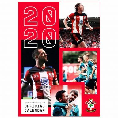 Official Southampton FC 2020 Football Calendar (A3)