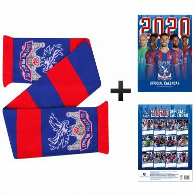 Official Crystal Palace 2020 Calendar & Scarf Gift Set
