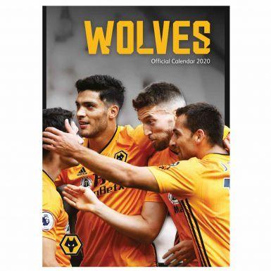 Official Wolverhampton Wanderers (Wolves) 2020 Football Calendar
