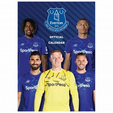 Everton FC (Premier League) 2020 Soccer Calendar (A3)