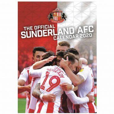 Official AFC Sunderland 2020 Soccer Calendar