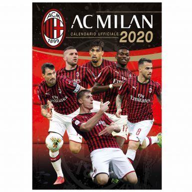 Official AC Milan (Serie A) 2020 Football Calendar (A3)