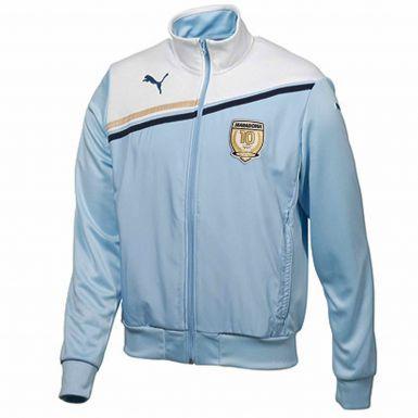 Official Diego Maradona Legend Zipped Jacket (100% Polyester)
