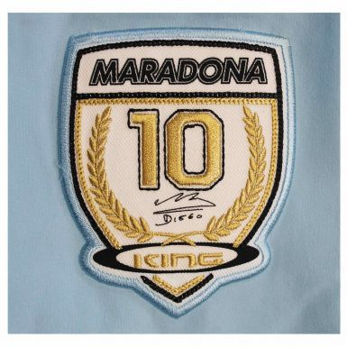 Official Diego Maradona Legend Zipped Jacket (100% Polyester)