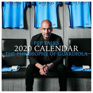 Pep Guardiola Man City Manager 2020 Football Calendar