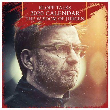 Jurgen Klopp Liverpool Manager 2020 Football Calendar (297mm x 297mm)
