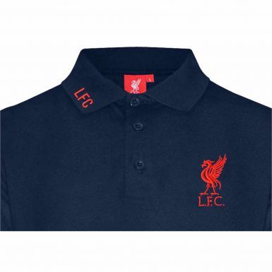 Liverpool FC Crest Leisure Polo Shirt
