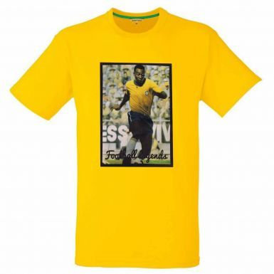 Pele Brazil Captain & Football Legend T-Shirt