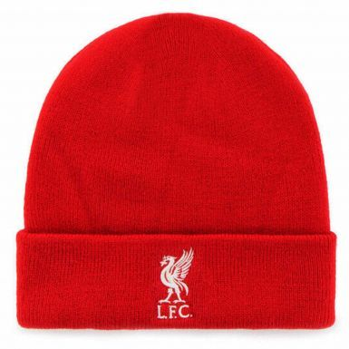 Official Liverpool FC Crest Bronx Hat (100% Acrylic)