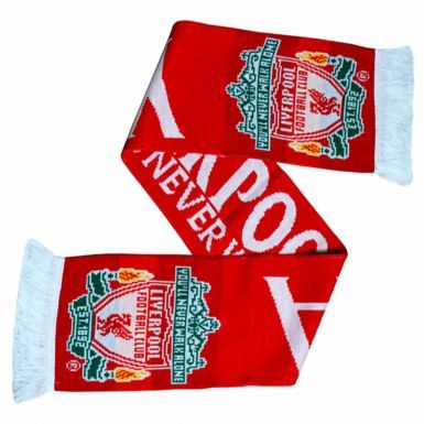 Official Liverpool FC Baseball Cap & Scarf Match Day Gift Set (Adults)