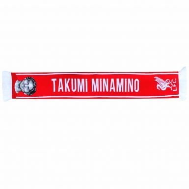 Official Liverpool FC & Takumi Minamino Player Scarf