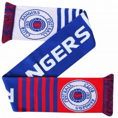 Official Rangers FC Football Crest Fans Scarf