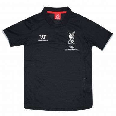 Official Liverpool FC Crest Kids Polo Shirt