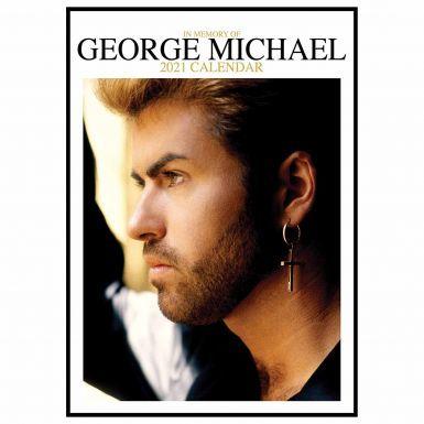 George Michael Music Legend 2021 Calendar (A3 Full Colour)