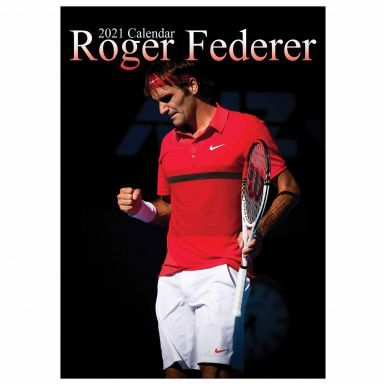 Roger Federer Tennis Legend 2021 Wall Calendar (A3 & Full Colour)