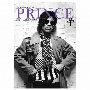 Prince Music Icon & Legend 2021 Calendar (Full Colour A3 420mm x 297mm)