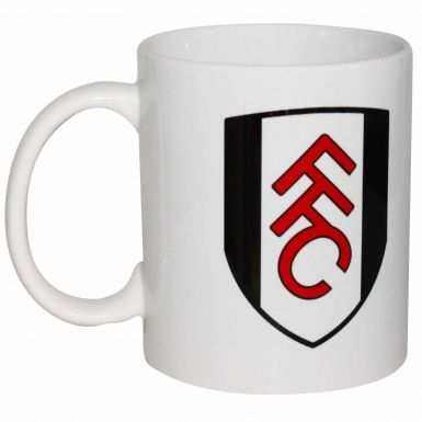 Fulham FC Football Crest Ceramic Mug